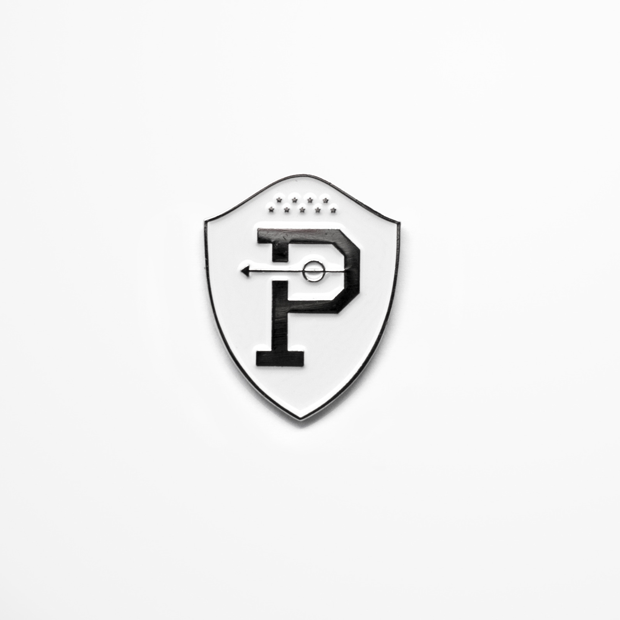 OTP Crest PIN BADGE