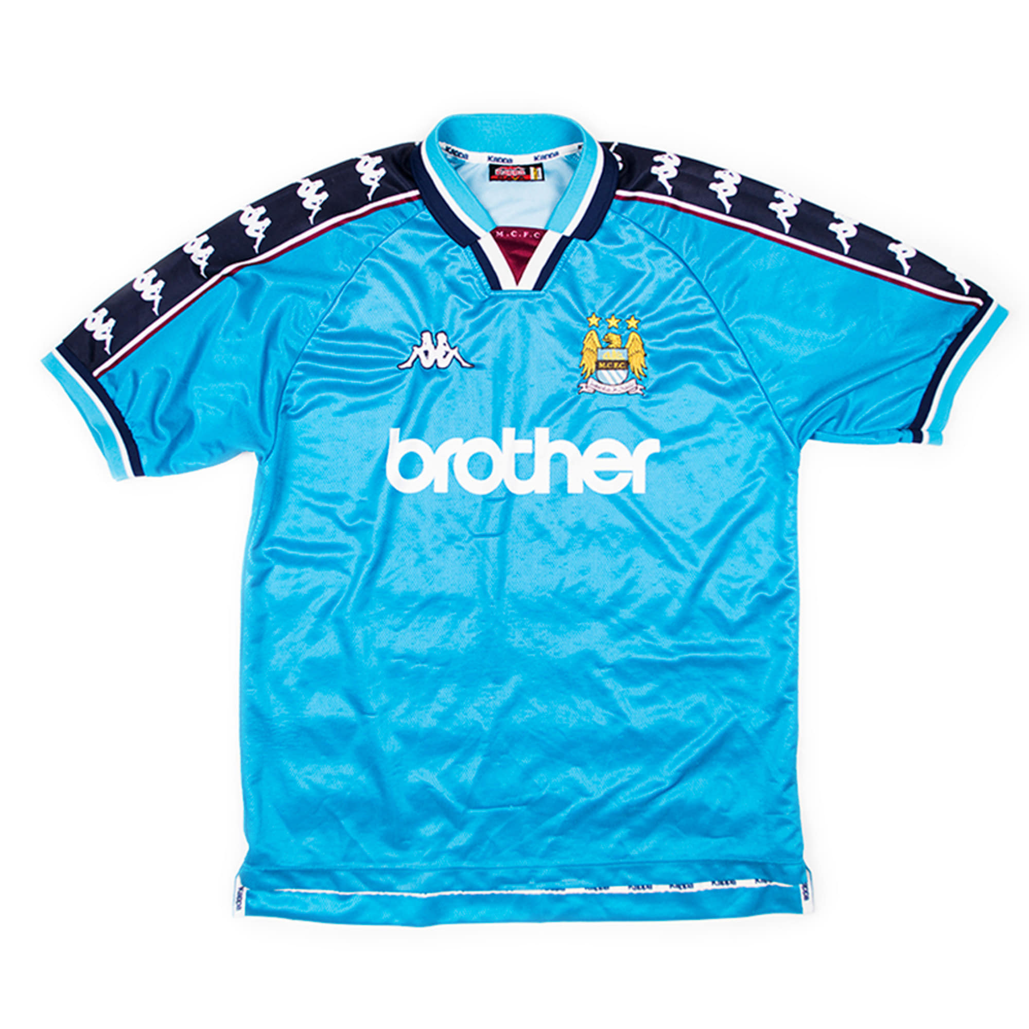 MANCHESTER CITY 1997-99 Home S/S JERSEY