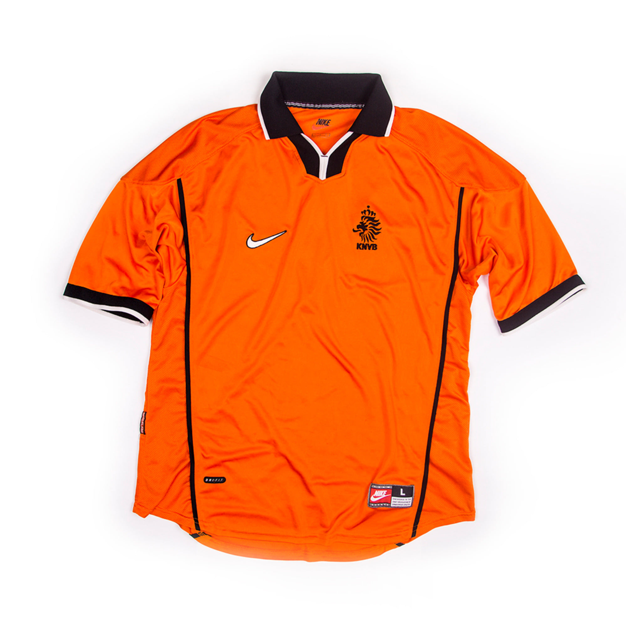 NETHERLANDS 1998-00 HOME JERSEY S/S