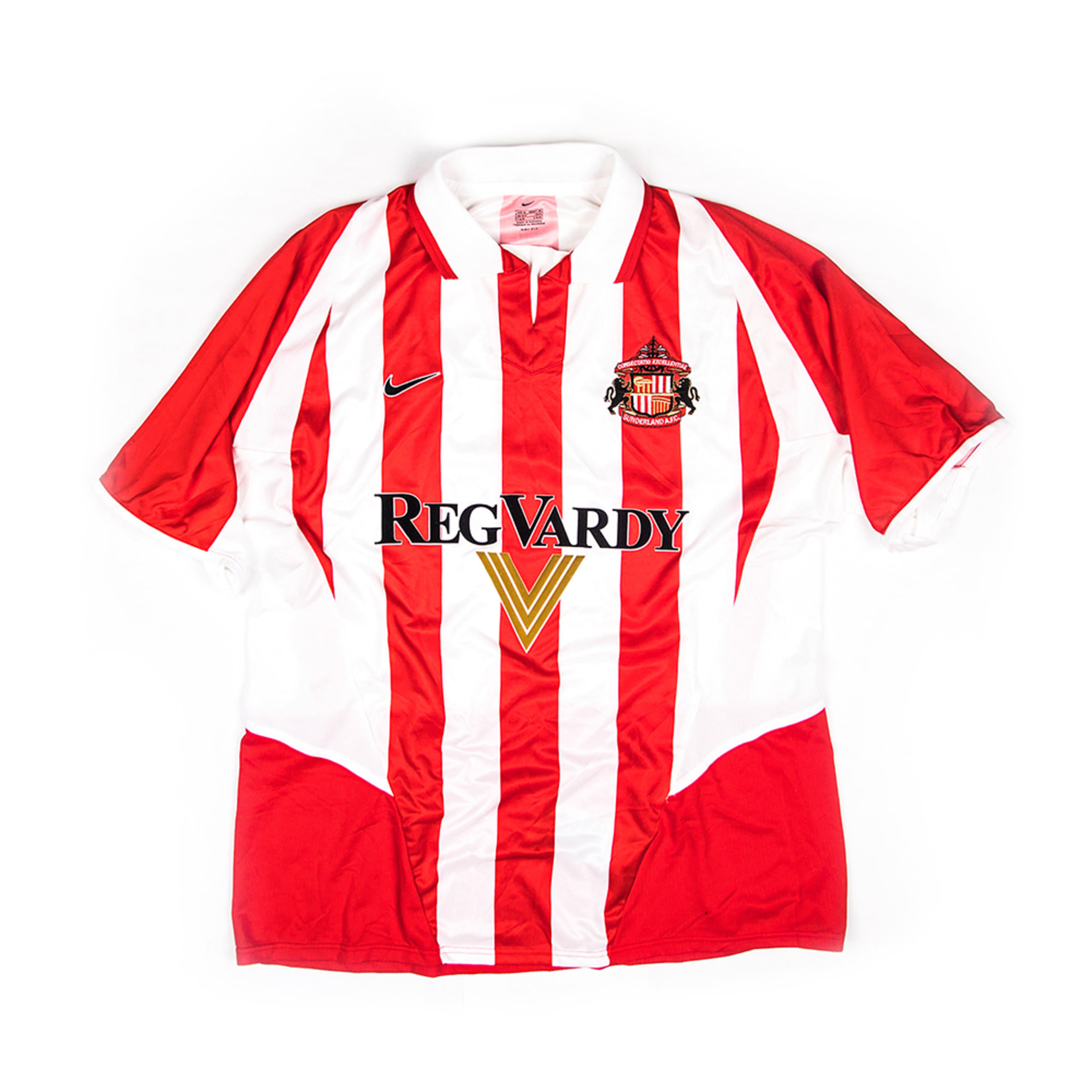 SUNDERLAND 2002-03 HOME S/S JERSEY