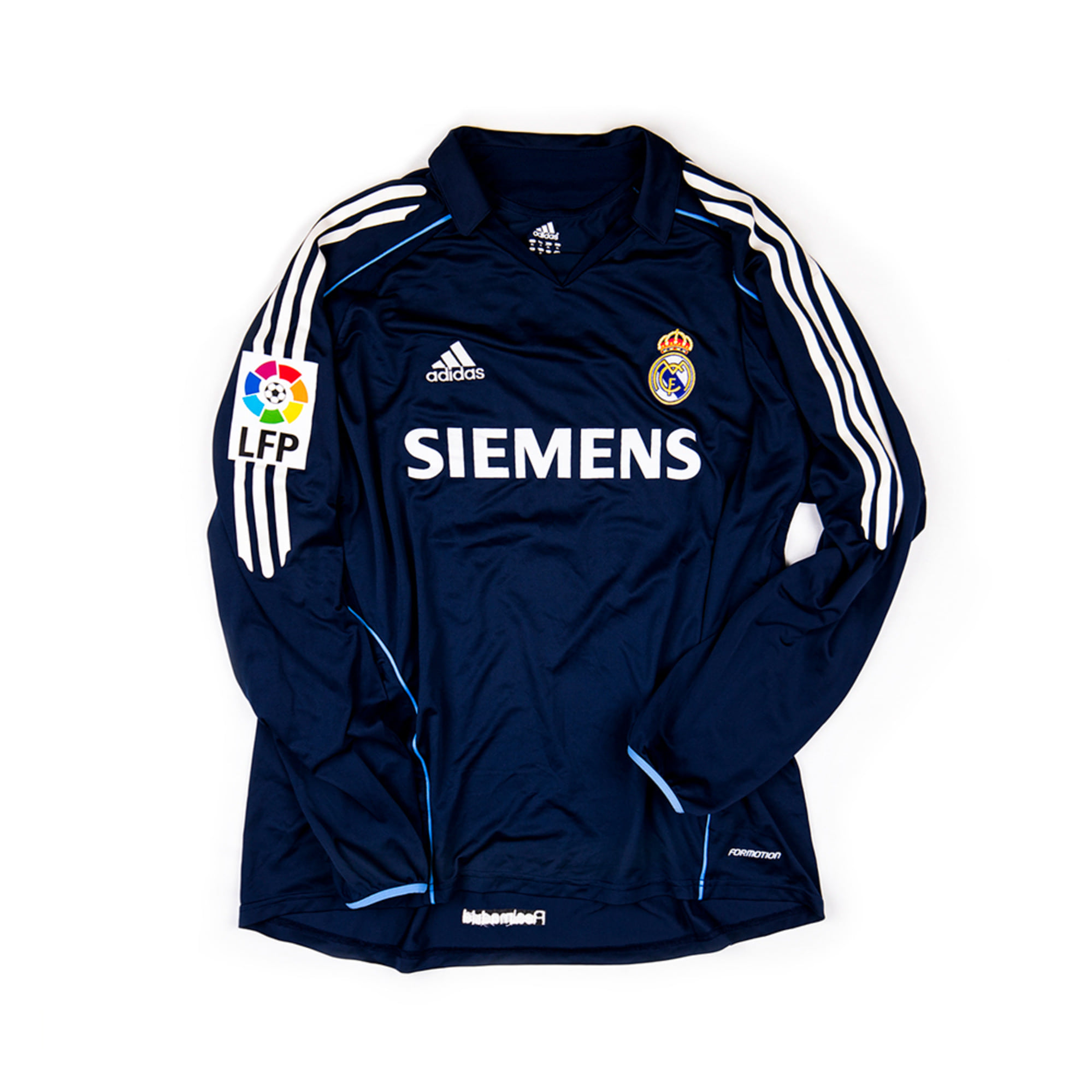 REAL MADRID(Castilla) 2005-06 AWAY #11 ERNESTO L/S (Player Issued)