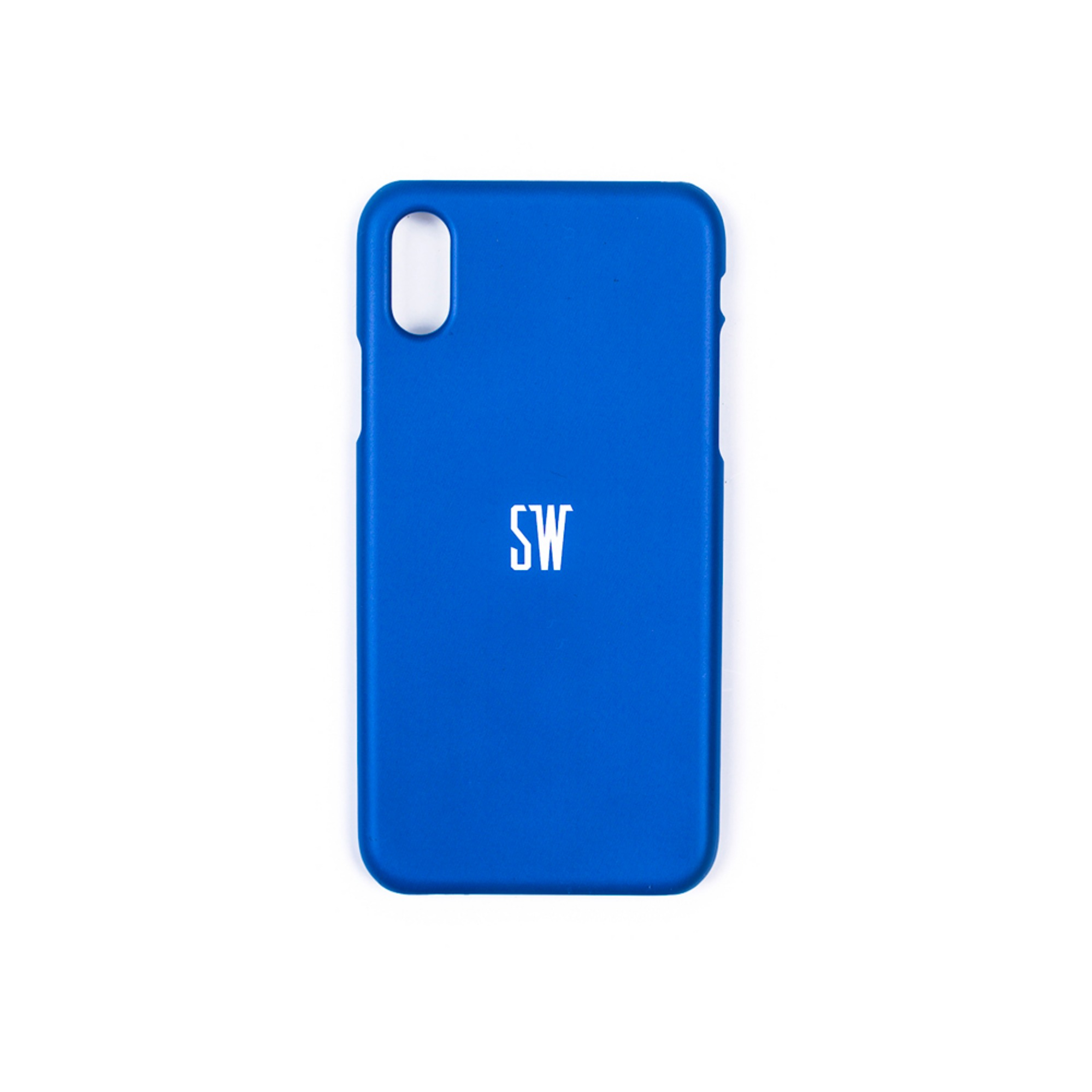 'SEUNGWOOLEE' SMARTPHONE CASE - 'SW' LOGO (BLUE)