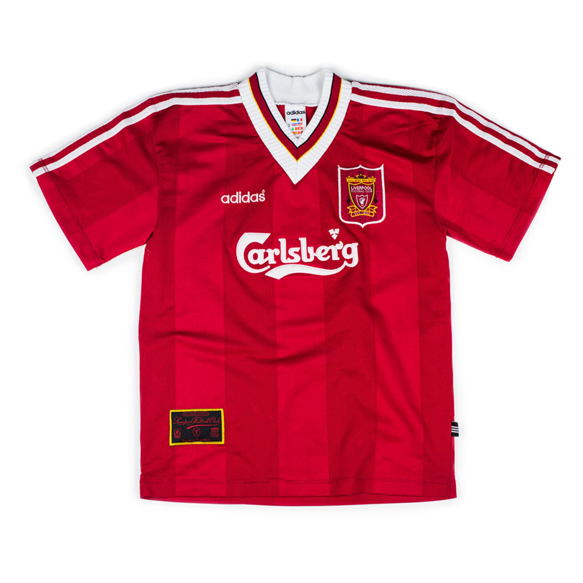 LIVERPOOL 1995-96 HOME S/S