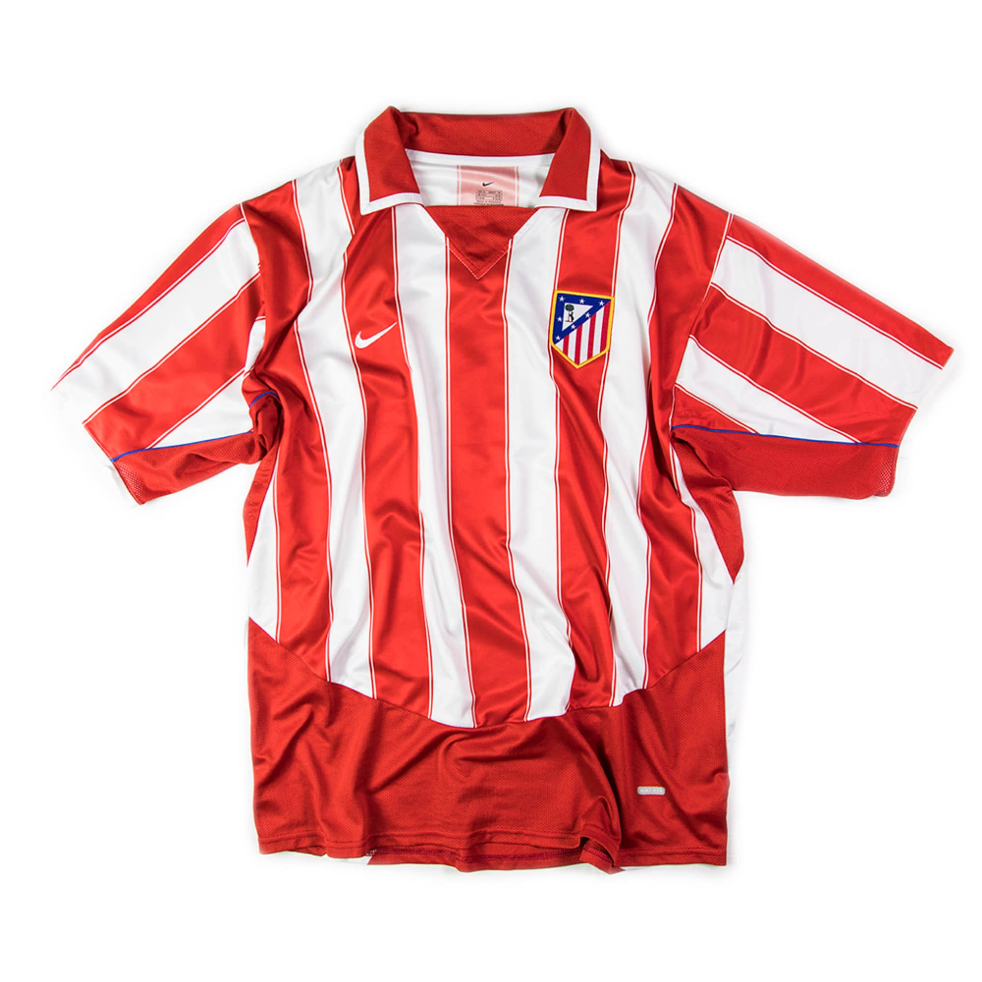 ATLETICO MADRID 2003-04 HOME S/S #9 TORRES