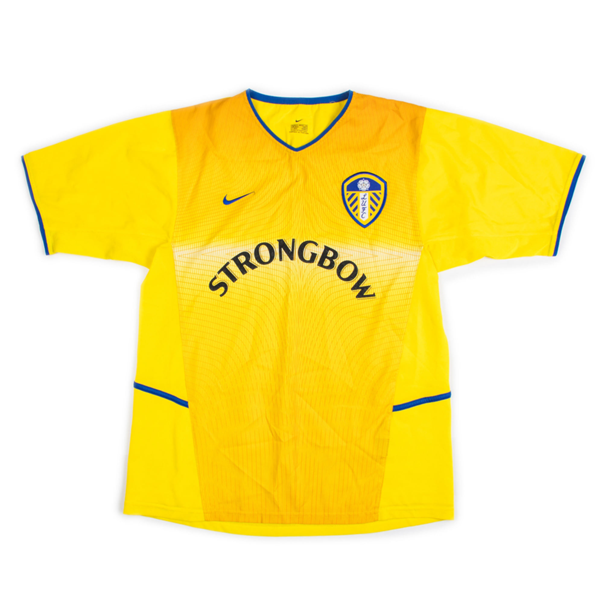 LEEDS UNITED 02-04 AWAY JERSEY S/S