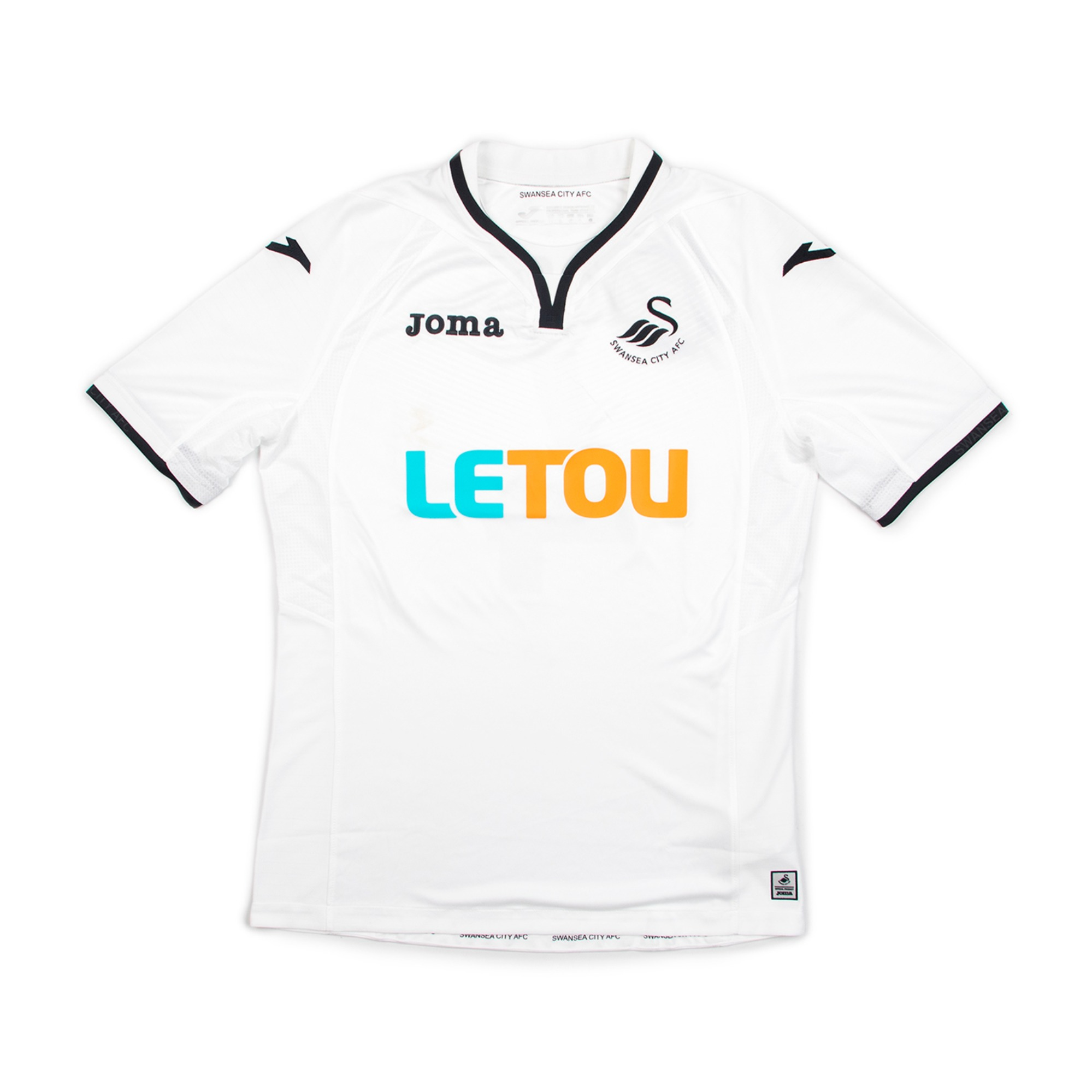 SWANSEA CITY 17-18 HOME JERSEY S/S #4 KI.S.Y