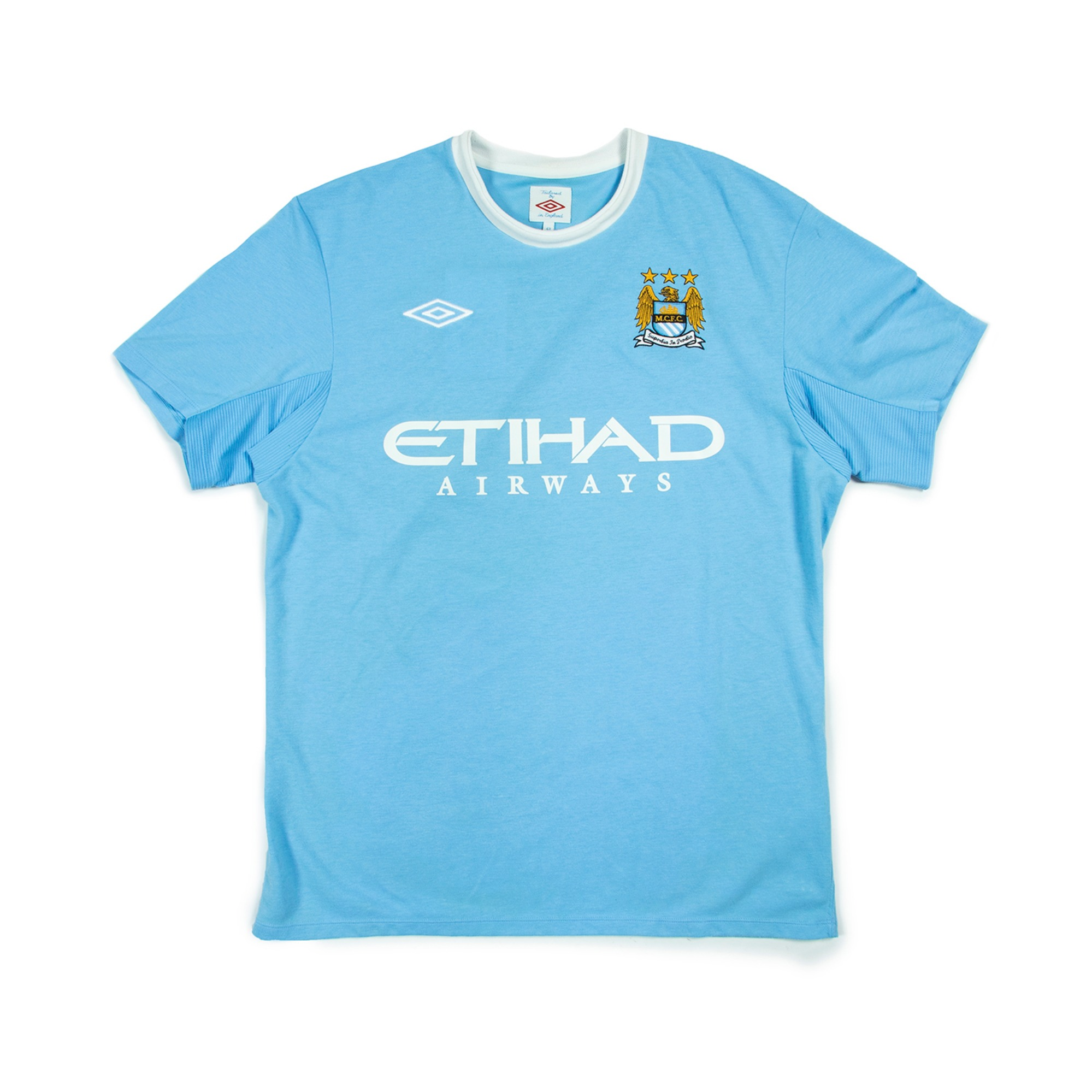 MAN CITY 09-10 HOME JERSEY S/S