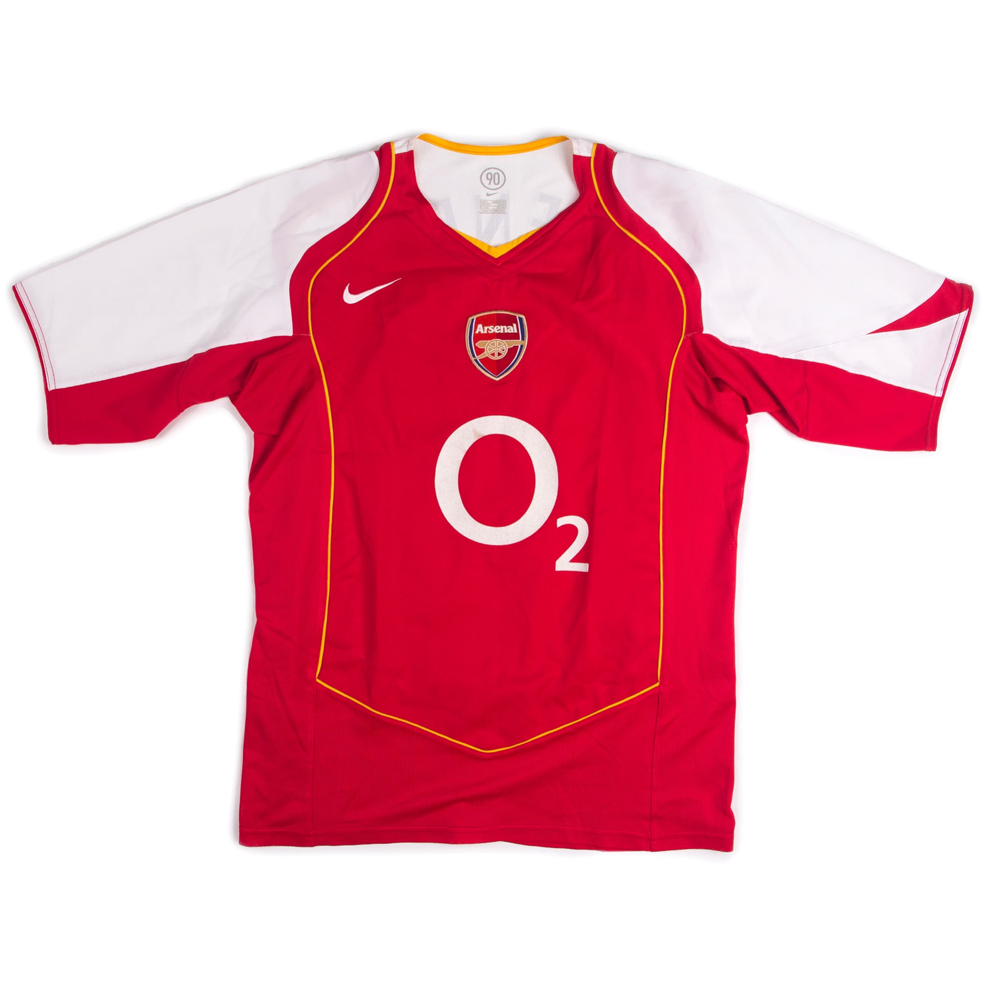 ARSENAL 04-05 HOME S/S #14 HENRY