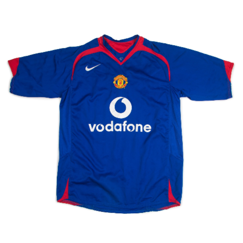 MANCHESTER UNITED 05-06 AWAY S/S 13 J.S.PARK