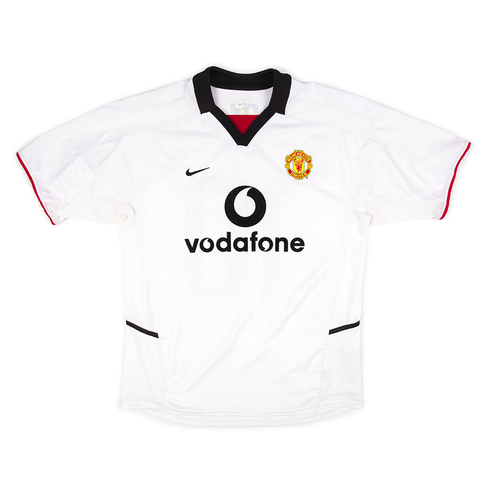 MANCHESTER UNITED 02-03 AWAY S/S #10 v.NISTELROOY