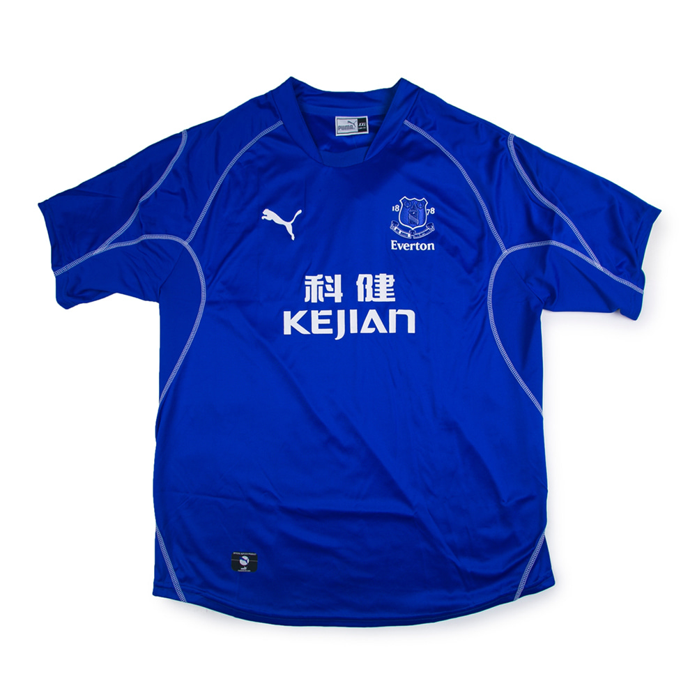 EVERTON FC 02-03 HOME S/S #18 ROONEY