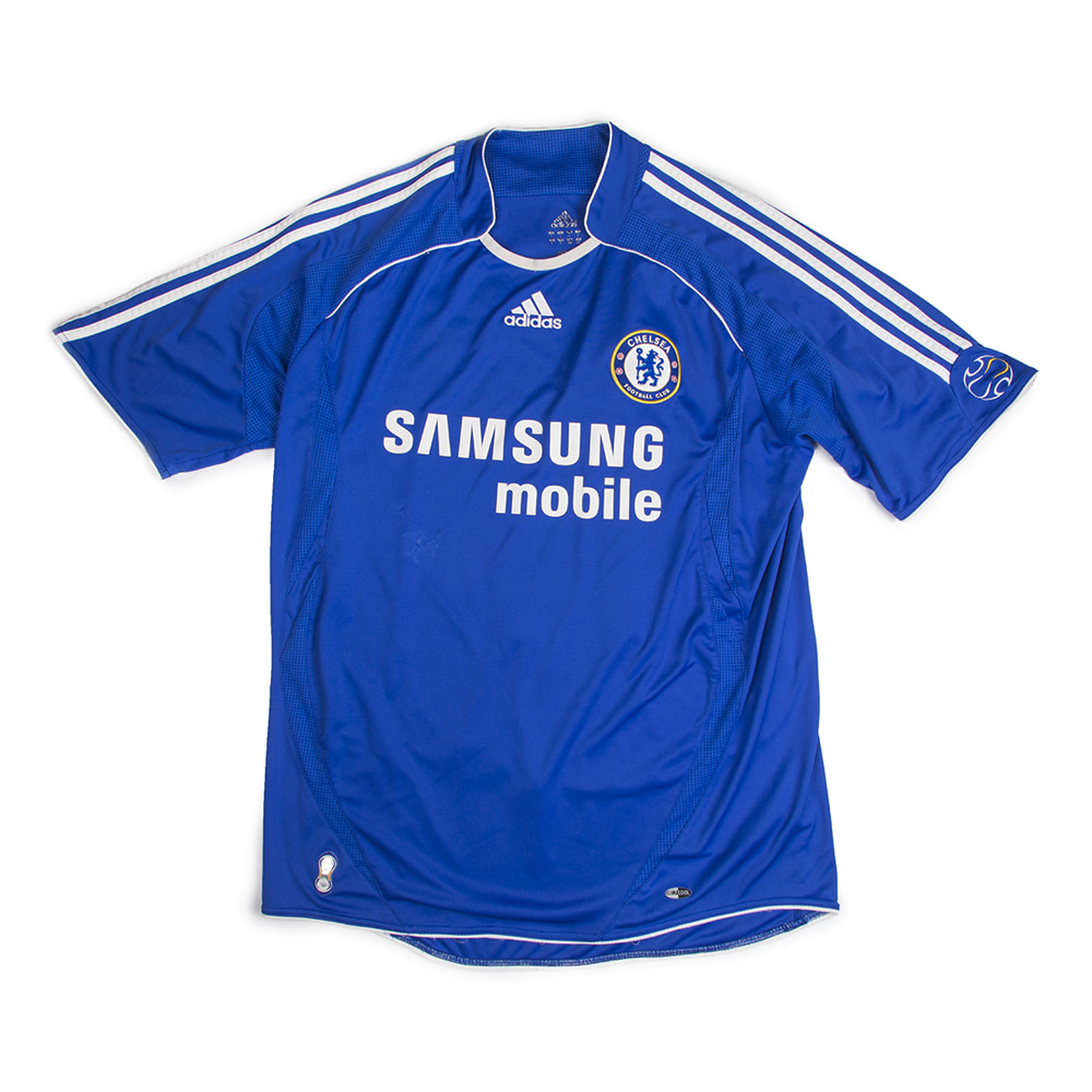 CHELSEA 06-08 HOME S/S #11 DROGBA