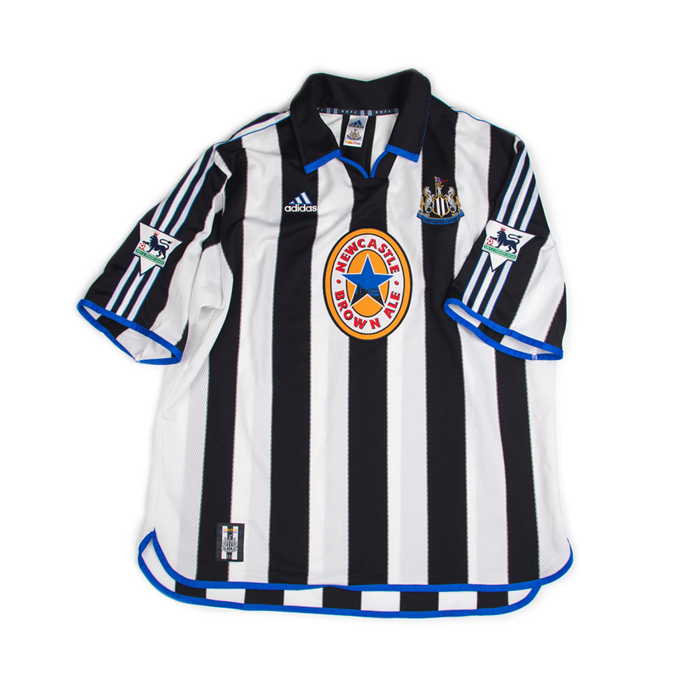 NEWCASTLE 99/00 HOME S/S #9 SHEARER