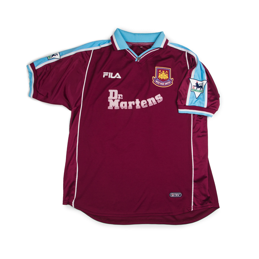 WEST HAM 99/01 HOME S/S #18 LAMPARD