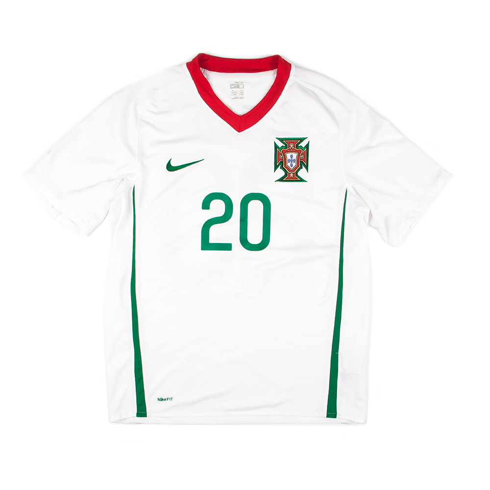 PORTUGAL 08-10 AWAY S/S #20 DECO