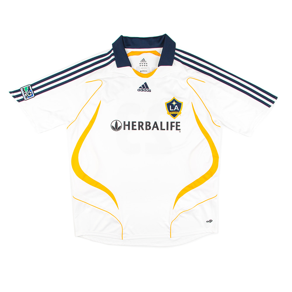 LA GALAXY 07-08 HOME S/S 23 BECKHAM