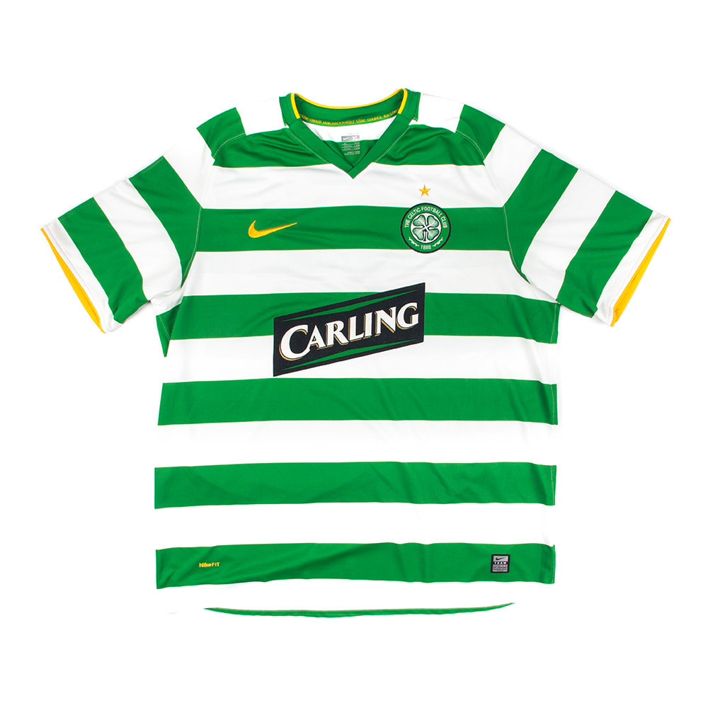 CELTIC 08-10 HOME S/S #46 McGEADY