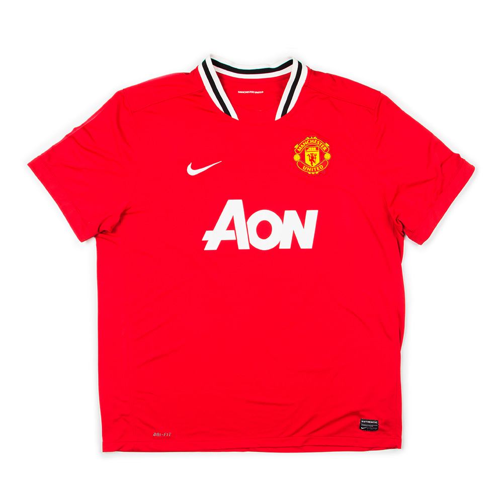 MANCHESTER UNITED 11-12 HOME S/S #13 J.S. PARK