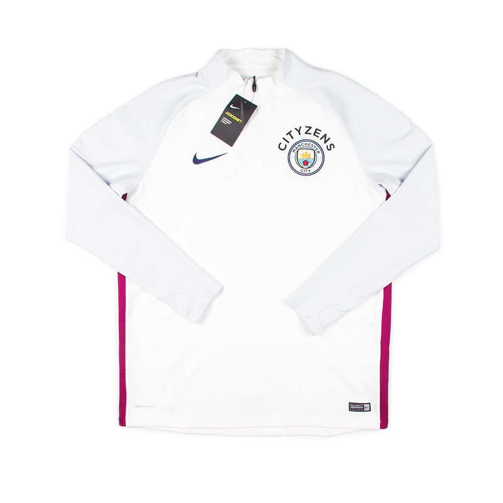 2017-2018 MANCHESTER CITY DRILL TOP L/S (AU)(W/tag)