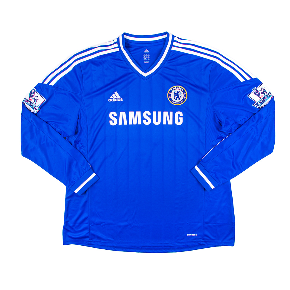 2013-2014 CHELSEA HOME S/S #4 DAVID LUIZ (W/tag)