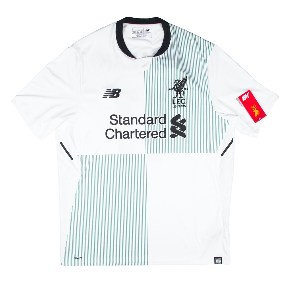 2017-2018 LIVERPOOL AWAY S/S #11 M.SALAH (W/tag)