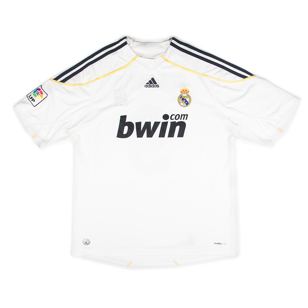 2009-2010 REAL MADRID HOME S/S #9 RONALDO