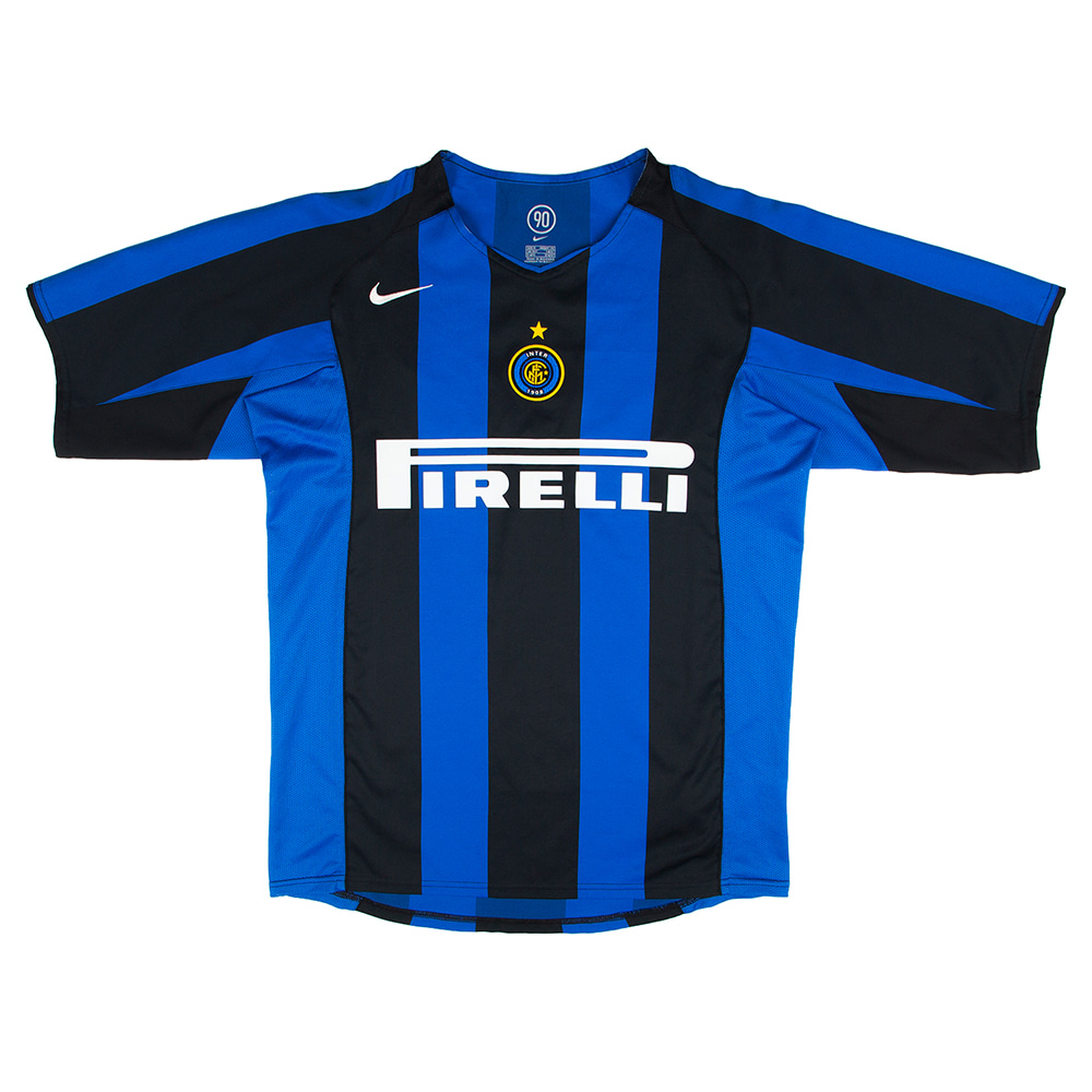 2004-2005 INTER HOME S/S #10 ADRIANO