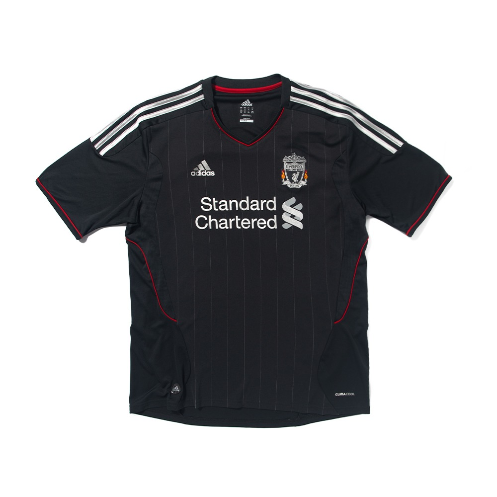Liverpool 2011-2012 AWAY S/S XL #14 HENDERSON