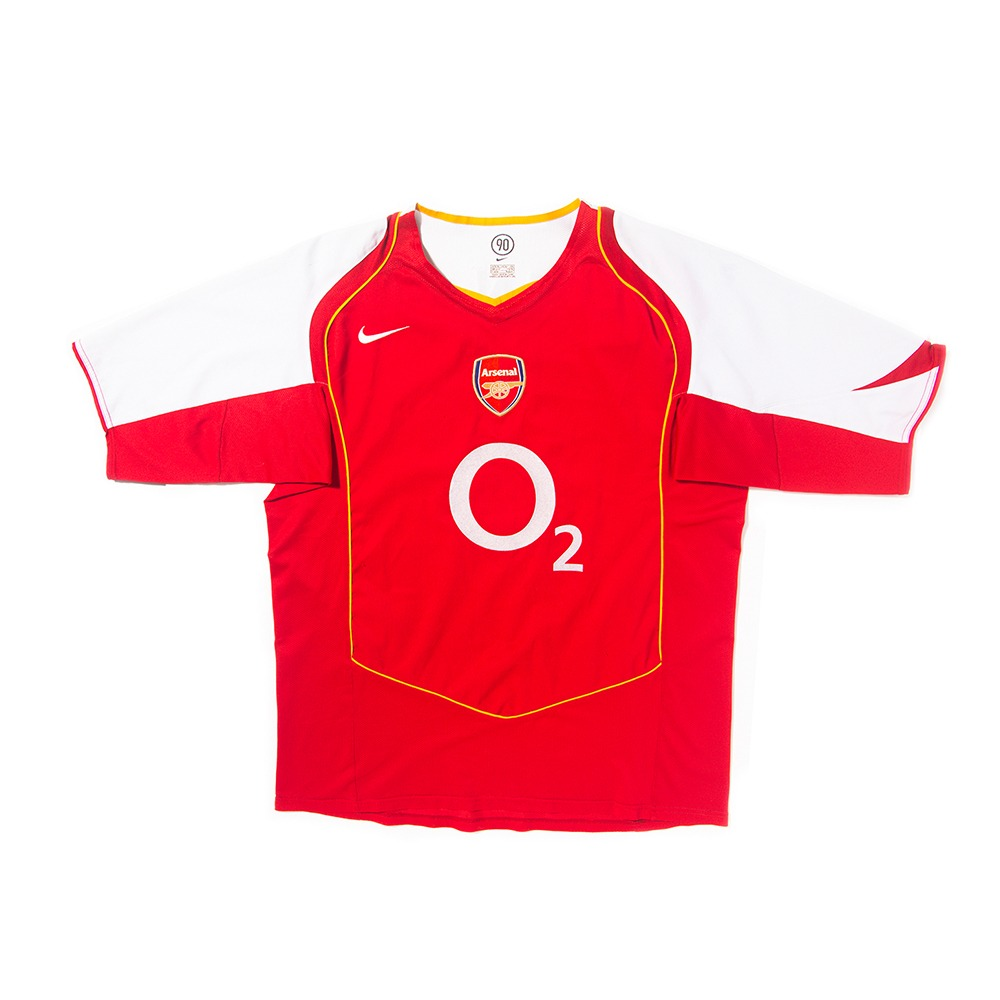 Arsenal 2004-2005 HOME S/S XL #14 HENRY