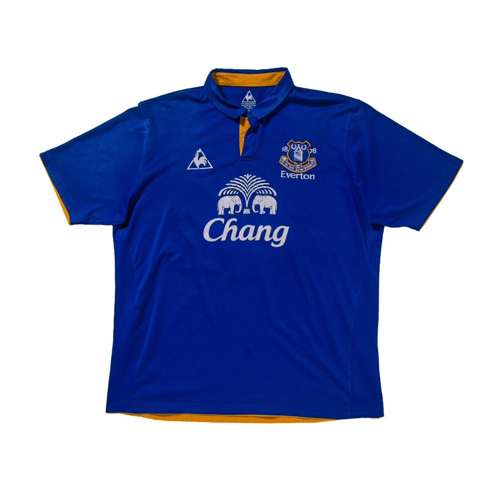 Everton 2011-2012 HOME S/S XL #6 JAGIELKA