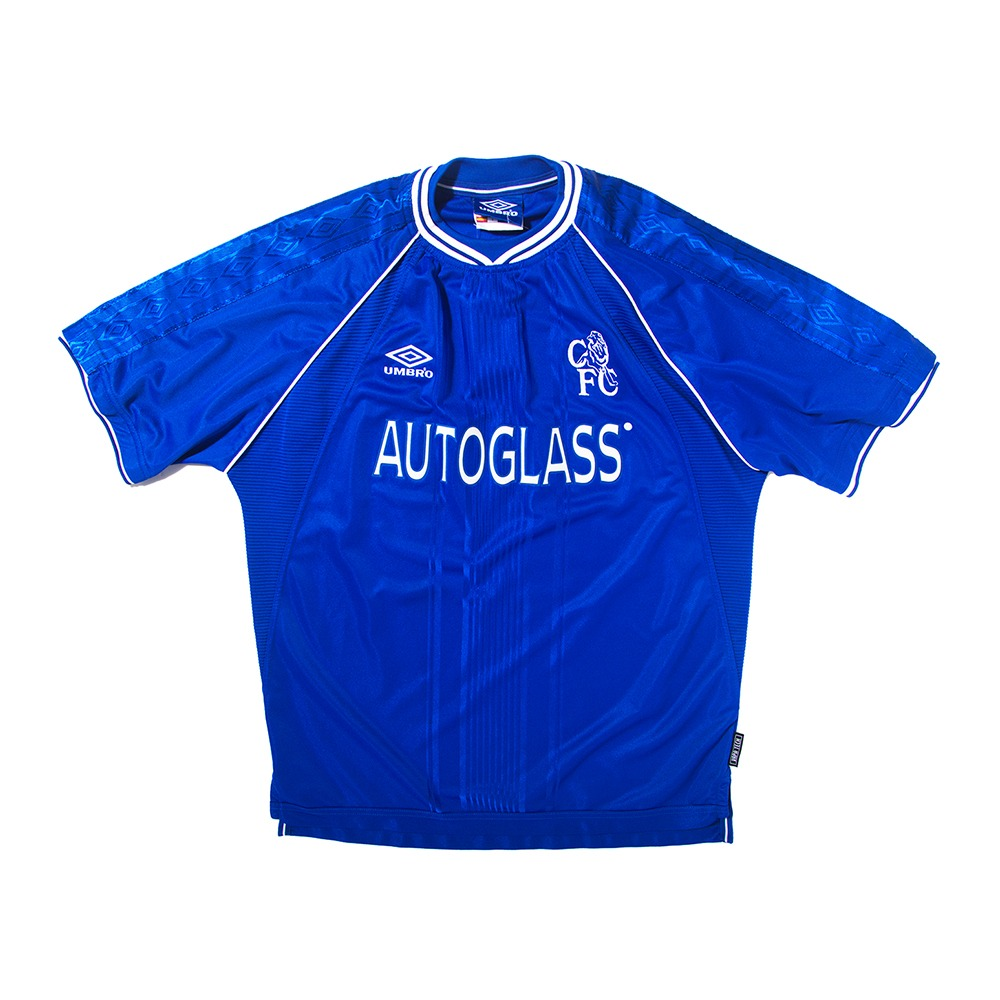 Chelsea 1999-2001 HOME S/S L #26 TERRY