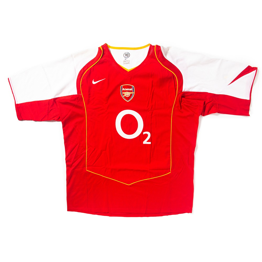 Arsenal 2004-2005 HOME S/S XXL #10 BERGKAMP