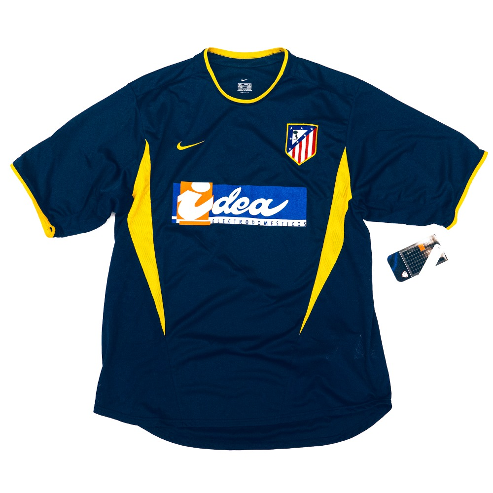 AT MADRID 2002-2003 AWAY S/S L #9 TORRES