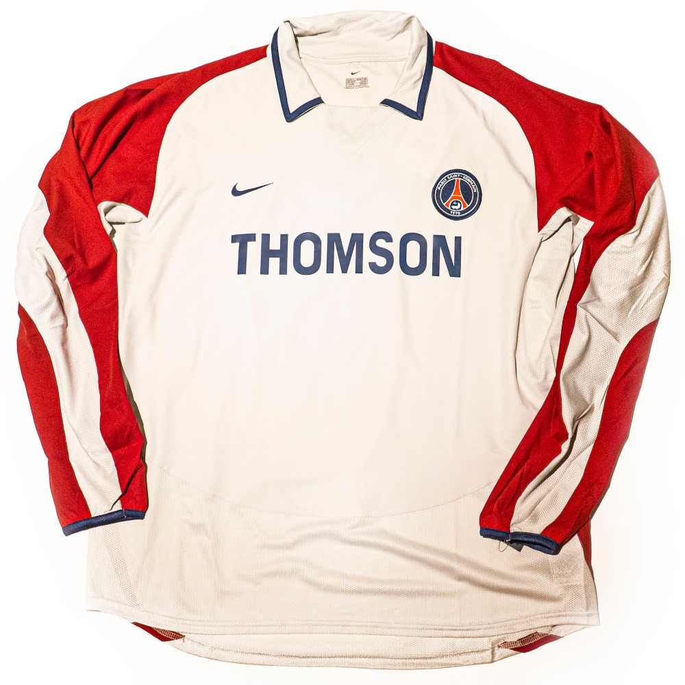 PSG 2003-2004 AWAY S/S XL #2 HEINZE