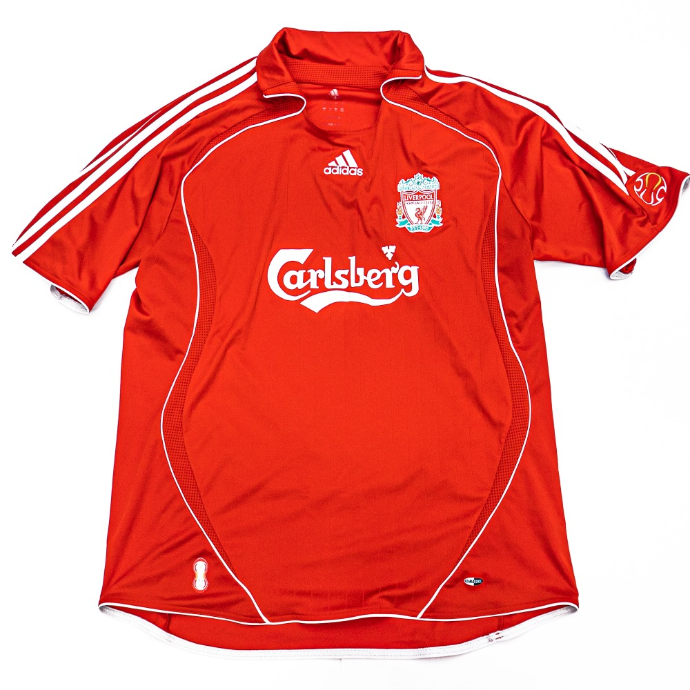 LIVERPOOL 2006-2008 HOME S/S XL