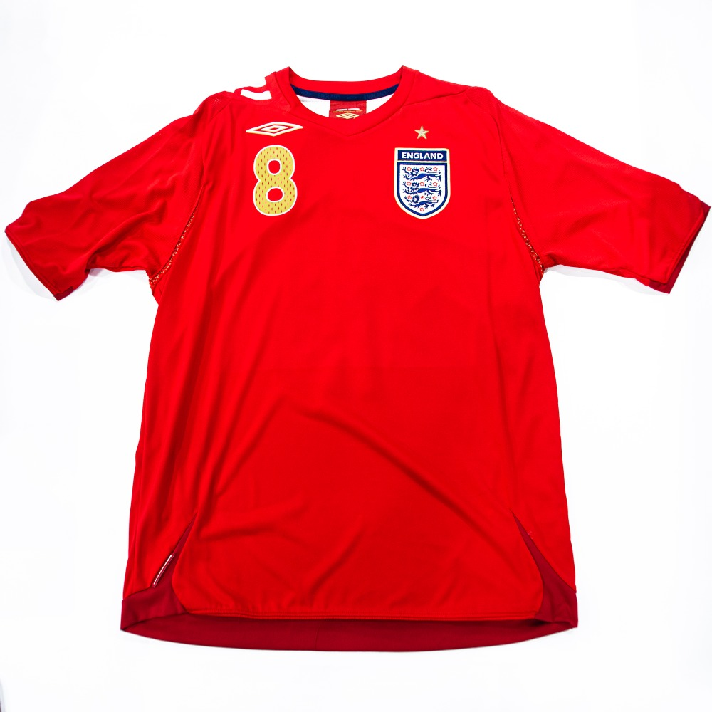 ENGLAND 2006-2008 AWAY L #8 LAMPARD