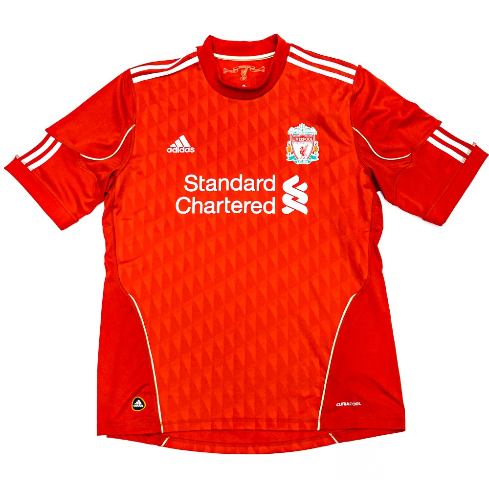 LIVERPOOL 2010-2012 HOME S/S L #9 TORRES