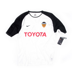 VALENCIA 2004-05 HOME S/S TRAINING TOP (BNWT)