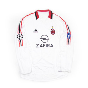 AC MILAN 2005-06 AWAY L/S #11 GILARDINO (PLAYER ISSUED, SIGNED)
