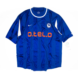HERTHA BERLIN 2000-01 HOME JERSEY S/S (BNWT)