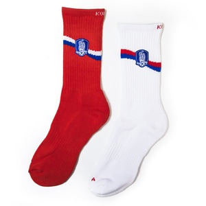 [SALE] KFA SOCKS 2018 SET (HOME+AWAY)