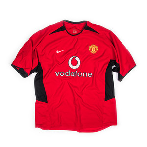 MANCHESTER UNITED 2002-04 HOME S/S JERSEY