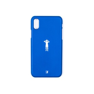 'SEUNGWOOLEE' SMARTPHONE CASE - 'SW' SILHOUETTE (BLUE)