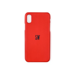 'SEUNGWOOLEE' SMARTPHONE CASE - 'SW' LOGO (RED)