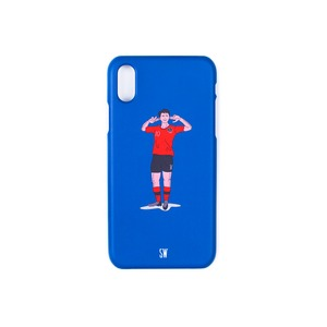 'SEUNGWOOLEE' SMARTPHONE CASE - 'SW' ILLUSTRATION (BLUE)