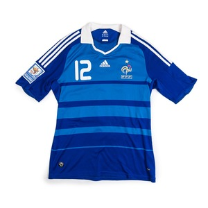 FRANCE 2008-09 HOME JERSEY S/S #12 HENRY