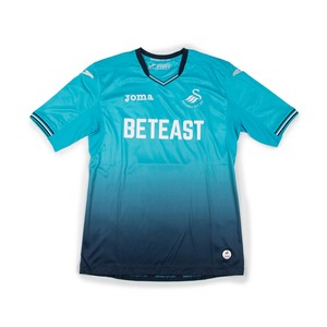 SWANSEA CITY 2016-17 AWAY JERSEY S/S #4 S.Y.KI