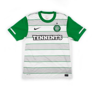 CELTIC 2011-12  AWAY JERSEY S/S #18 KI