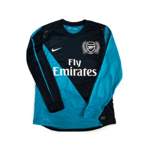 ARSENAL 11-12 AWAY AJERSEY L/S (AUTHENTIC,BNWT)