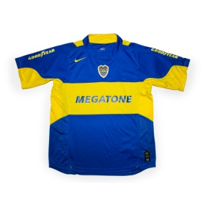 BOCA JUNIORS 2005-06 HOME JERSEY S/S 'CLAUSURADO'